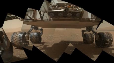 Жер микроағзалары Марста тіршілік етуде