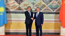 Қазақстан Президенті Қытай Халық Республикасының Премьер-Министрі Ли Кэцянмен кездесті