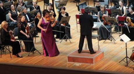 Мұсаходжаева Алматыда симфониялық оркестрдің жаңа маусымын ашты