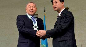 Назарбаев Хиросима қаласының айрықша құрметті азаматы атанды