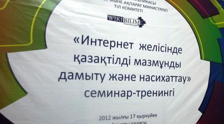 Интернеттегі қазақ тілінің дамуы мен проблемалары