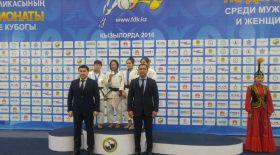 Галбадрах Отгонцэцэг ҚР чемпионаты мен кубогында жеңімпаз атанды
