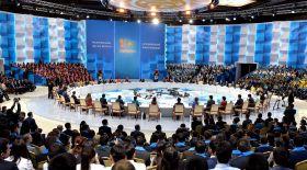 Нұрсұлтан Назарбаев Республикалық жастар форумына қатысты