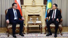 Сағынтаев Чехияның өнеркәсіп және сауда министрімен кездесті
