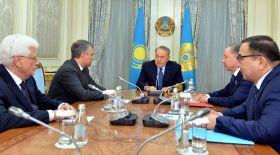 Назарбаев РФ Мемлекеттік Думасының төрағасымен кездесті