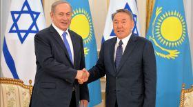 Назарбаев Израиль мемлекетінің Премьер-министрімен кездесті
