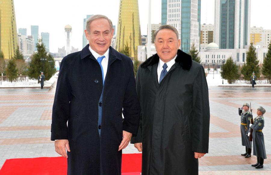Елбасы Израиль Премьер-министрімен болған келіссөздерді қорытындылады