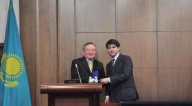 ҰЭМ-де мемлекеттік наградаларды тапсыру салтанаты өтті
