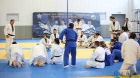 Алматыда дзюдодан жаттықтырушыларға арналған техникалық семинар өтті