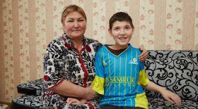 «Астана» ФК сал ауруына шалдыққан 12 жасар Райымбектің еміне қаржы жинап берді