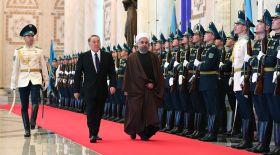 Елбасы Иран президенті Хасан Руханимен кездесті