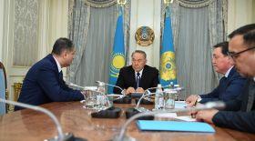 Назарбаев Еуразиялық экономикалық комиссия алқасының төрағасын қабылдады