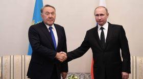 Елбасы Ресей Президенті Путинмен кездесті