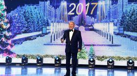 Мемлекет басшысы елордадағы жаңа жылдық қайырымдылық кешіне қатысты