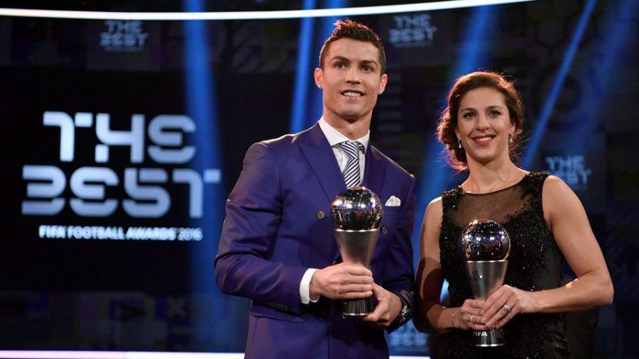 Роналду 2016 жылдың ең үздік футболшысы атанды