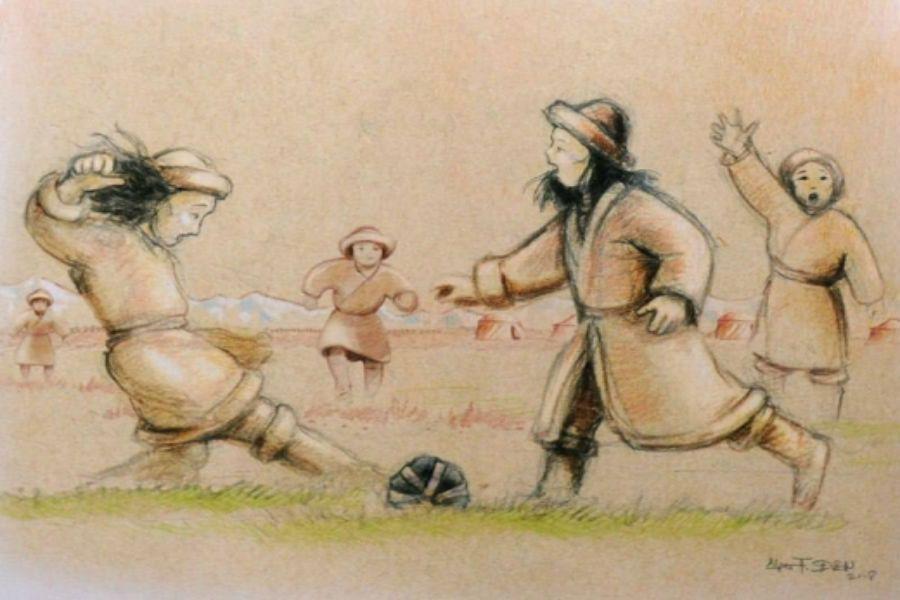 Футбол – ежелгі түркілер ойыны