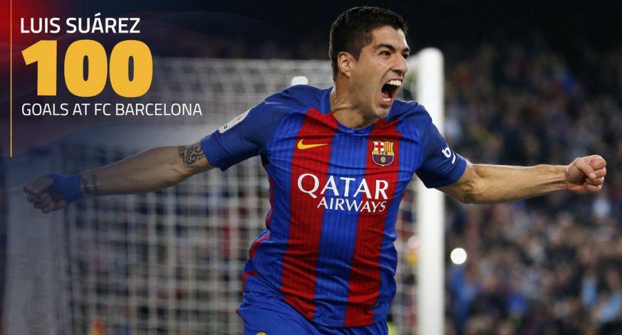 Суарес «Барселона» сапындағы 100-голын соқты (видео)