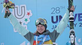 Қазақстандық фристайлшы Алматыдағы Универсиадада екінші алтынын ұтып алды