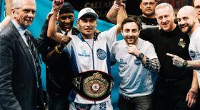 Бекман Сойлыбаев мексикалық боксшымен жұдырықтасады