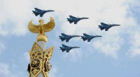 Тәуелсіз елдің салтанатты шарасы – әскери шеру
