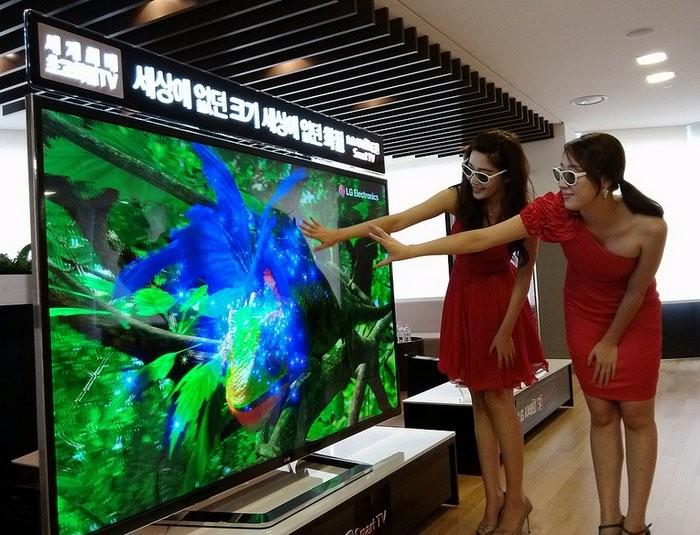 LG компаниясы 3D теледидарын ұсынды