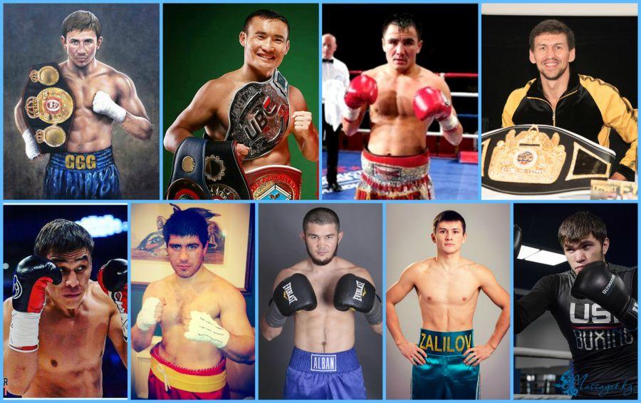 Қазақ кәсіпқой боксшыларының лақап аттары
