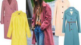 Көктемгі тренд: балмұздақ түсті пальто