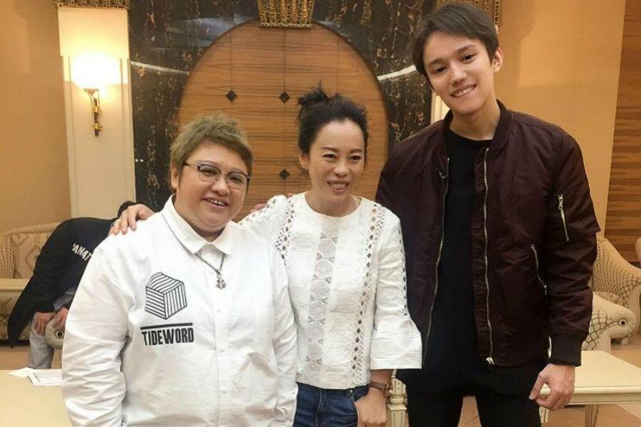 Қытайдың танымал әншісі Хан Хун Димашты іздеп келді
