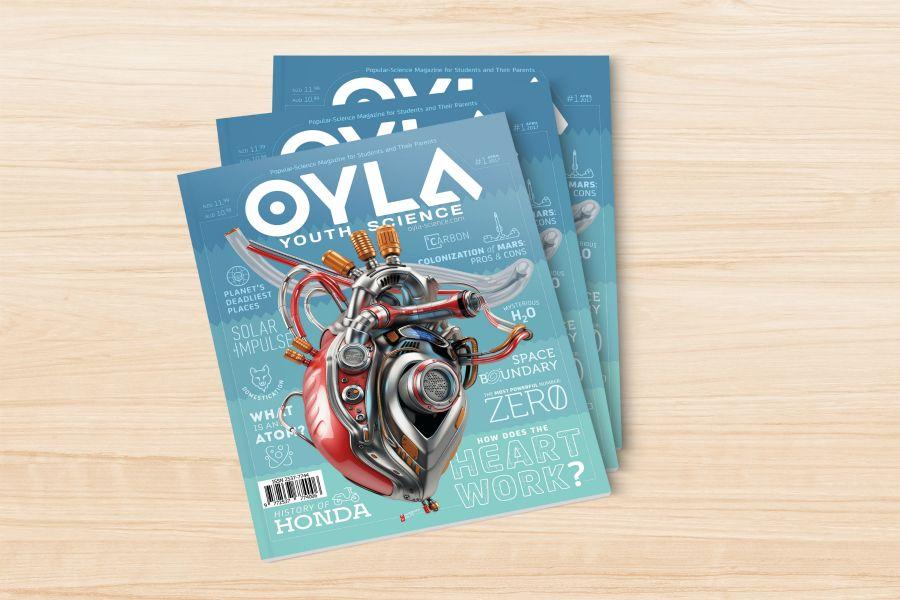 OYLA журналы шетелдерде шыға бастады
