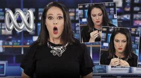 Тікелей эфир жүргізіп отырған журналист ойланып кетті (Видео)