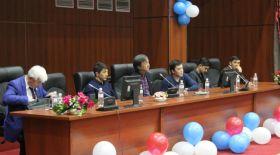 Астаналық Жастар театры ҚазҰУ студенттерімен кездесті