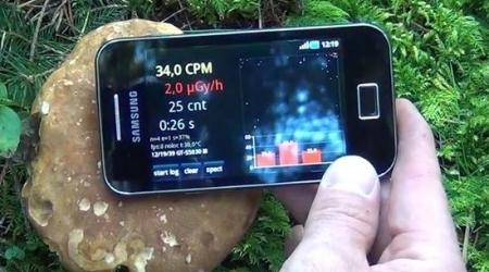 Радиацияны смартфонмен өлшеуге болады