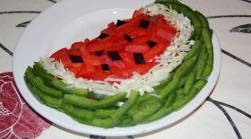 Массагеттен мәзір: «Қарбыз» салаты