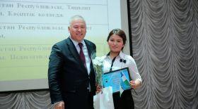 «Ы.Алтынсарин-2017» халықаралық олимпиадасы  үздік оқушы қыздарды анықтады