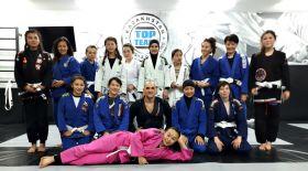 Қыздар арасында джиу-джитсу спортын дамыту жайында семинар өтті