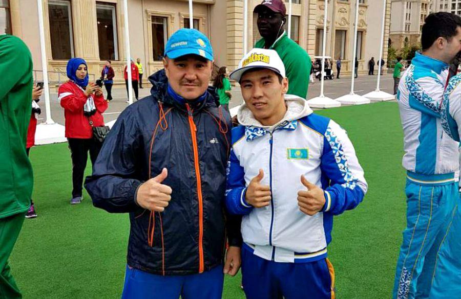 Қазақ боксшысы Ислам ойындарында алтын алды