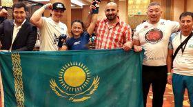 Қазақ қызы аралас жекпе-жектен Азия чемпионатының финалына шықты (видео)