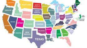 АҚШ-тың штат атаулары қайдан пайда болған?