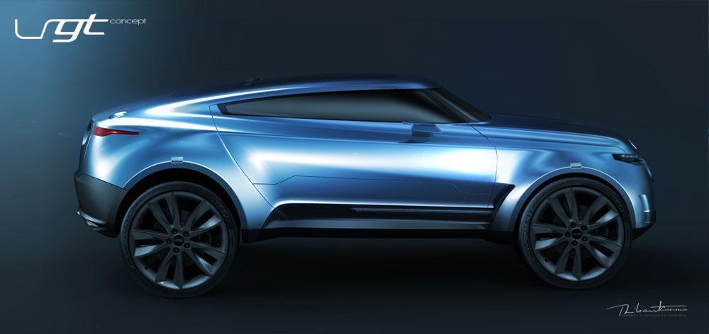 «BMW X6» автокөлігімен бәсекелесе алатын ең жаңа «Land Rover LRGT» көлігі