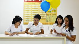 Алматыдағы №4 қалалық клиникалық ауруханада ашық есік күні өтті