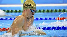 Баландин Болгария чемпионатында брасс әдісімен жүзуде үздік шықты