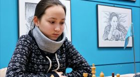 Шахматтан ерлер арасында гроссмейстер атанған тұңғыш қазақ қызы