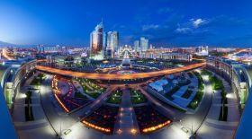 Астана фонындағы креативті суреттер