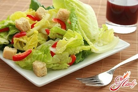 Жазғы салатты дайындаңыз