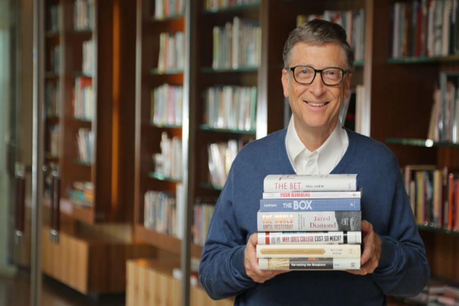 Билл Гейтс ұсынатын 5 кітап