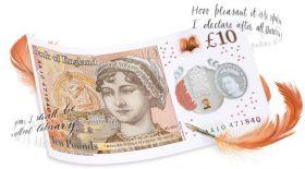 Англия банкі жазушы Джейн Остин бейнеленген жаңа банкнот шығарды