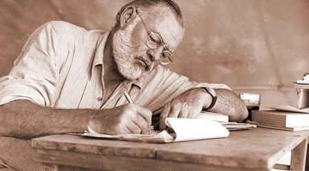 Ой өндірісі: Хемингуэй, Брэдбери және Паустовскийлер кітап жазу жайында
