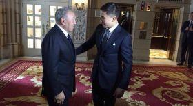 Назарбаев Головкинге: