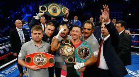 Головкин The Ring және  Boxing News журналдарының рейтингінде бірінші орынға шықты