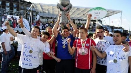 Чили құрамасы үйсіздер арасында әлем біріншілігін жеңіп алды